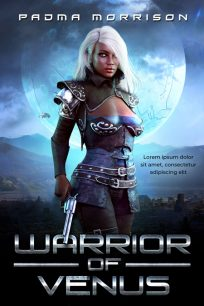 Warrior of Venus - Science-Fiction Premade Book Cover For Sale @ Beetiful Book Covers