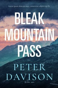 Bleak Mountain Pass - Mystery Premade Book Cover For Sale @ Beetiful Book Covers