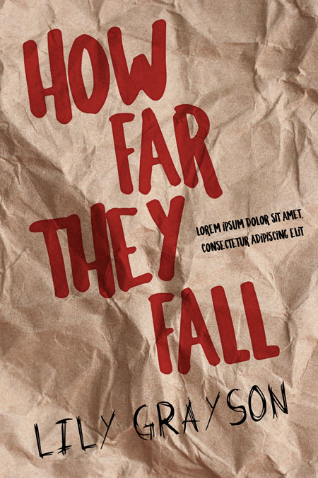 How Far They Fall - Horror / Thriller Premade Book Cover For Sale @ Beetiful Book Covers