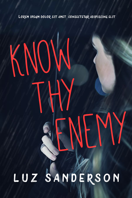 Know Thy Enemy - Mystery / Suspense Premade Book Cover For Sale @ Beetiful Book Covers