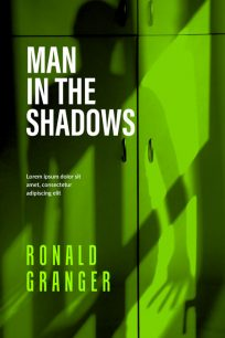 Man In The Shadows - Horror / Thriller Premade Book Cover For Sale @ Beetiful Book Covers