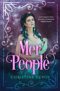 Mer People - Mermaid Premade Book Cover For Sale @ Beetiful Book Covers