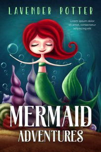 Mermaid Adventures - Mermaid Middle-Grade Premade Book Cover For Sale @ Beetiful Book Covers