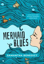 Mermaid Blues – Illustrated Mermaid Premade Book Cover For Sale @ Beetiful Book Covers
