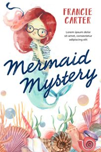 Mermaid Mystery - Mermaid Middle-Grade Premade Book Cover For Sale @ Beetiful Book Covers