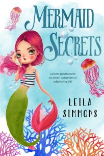 Mermaid Secrets - Mermaid Middle-Grade Premade Book Cover For Sale @ Beetiful Book Covers
