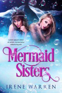 Mermaid Sisters - Mermaid Premade Book Cover For Sale @ Beetiful Book Covers