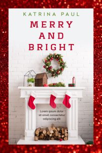 Merry and Bright - Christmas Premade Book Cover For Sale @ Beetiful Book Covers