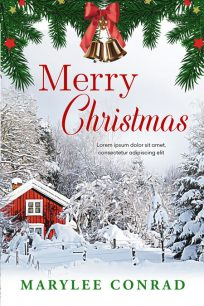 Merry Christmas - Holiday Premade Book Cover For Sale @ Beetiful Book Covers