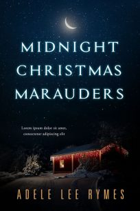 Midnight Christmas Marauders - Christmas Mystery Premade Book Cover For Sale @ Beetiful Book Covers