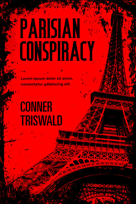 Parisian Conspiracy - Mystery / Suspense Premade Book Cover For Sale @ Beetiful Book Covers