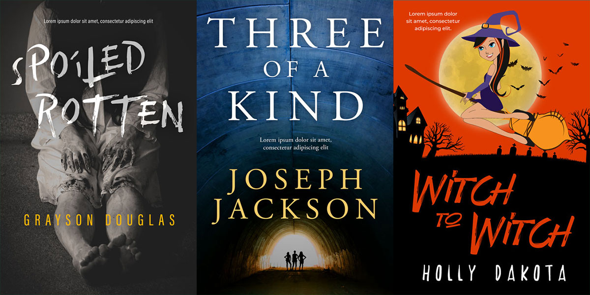 33 new horror, thriller, mystery book covers have been added to the site