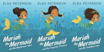 Series: Mariah the Mermaid - Middle-grade Fantasy Series Premade Book Covers For Sale - Beetiful