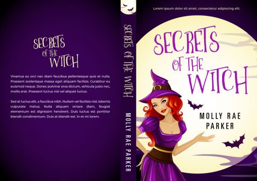 Secrets of the Witch - Fantasy Premade Book Cover For Sale @ Beetiful Book Covers