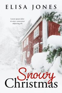 Snowy Christmas - Christmas Premade Book Cover For Sale @ Beetiful Book Covers