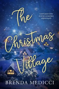 The Christmas Village - Christmas Premade Book Cover For Sale @ Beetiful Book Covers