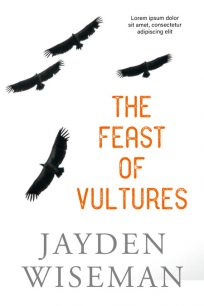 The Feast of Vultures - Mystery Premade Book Cover For Sale @ Beetiful Book Covers