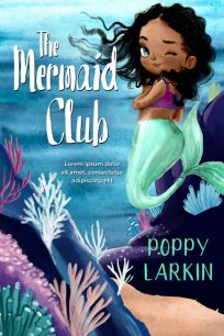 The Mermaid Club - Mermaid Middle-Grade Premade Book Cover For Sale @ Beetiful Book Covers