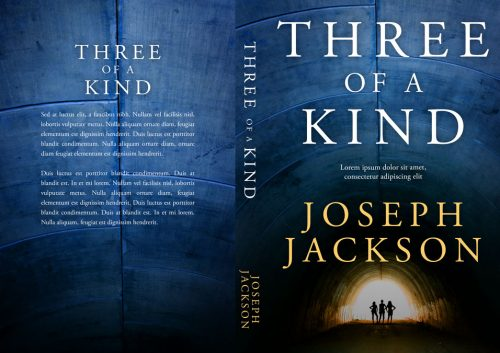 Three of a Kind - Mystery / Thriller Premade Book Cover For Sale @ Beetiful Book Covers