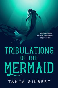 Tribulations of the Mermaid - Young Adult Fantasy Premade Book Cover For Sale @ Beetiful Book Covers