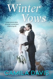 Winter Vows - Winter Romance Premade Book Cover For Sale @ Beetiful Book Covers