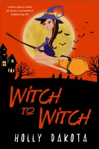 Witch To Witch - Fantasy Premade Book Cover For Sale @ Beetiful Book Covers