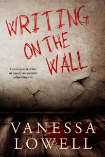 Writing On The Wall - Horror / Thriller Premade Book Cover For Sale @ Beetiful Book Covers